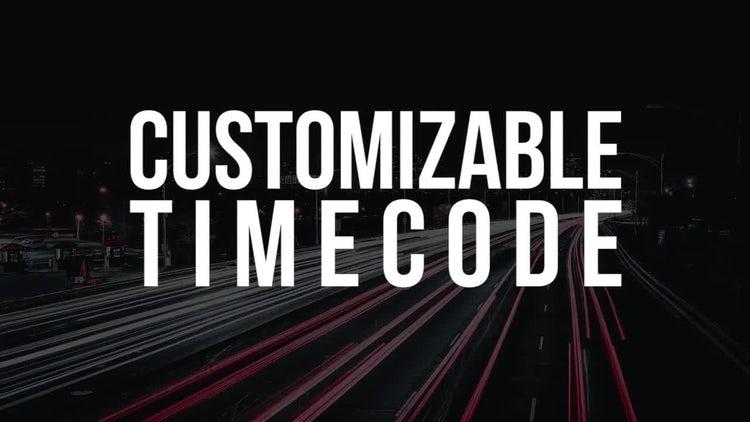 Customizable Timer: Premiere Pro Templates