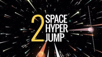 Space Hyper Jump : Motion Graphics