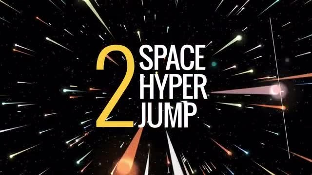Space Hyper Jump : Stock Motion Graphics