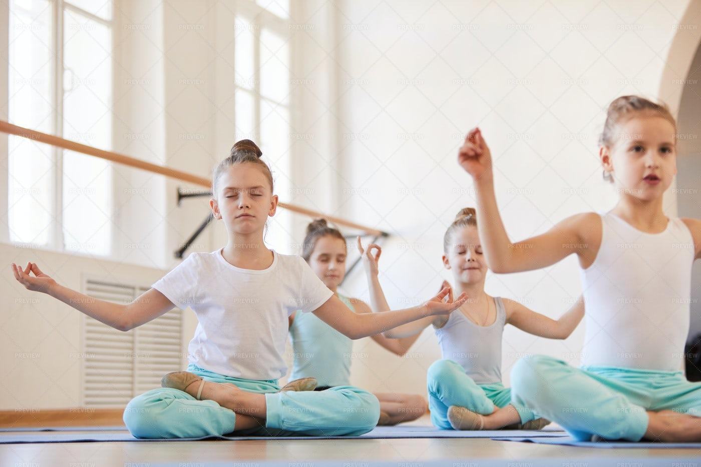 Yoga For Kids: Stock Photos