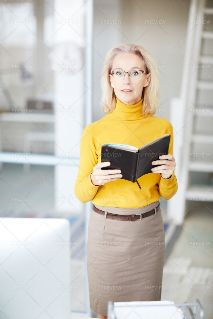 Mature Business Owner: Stock Photos