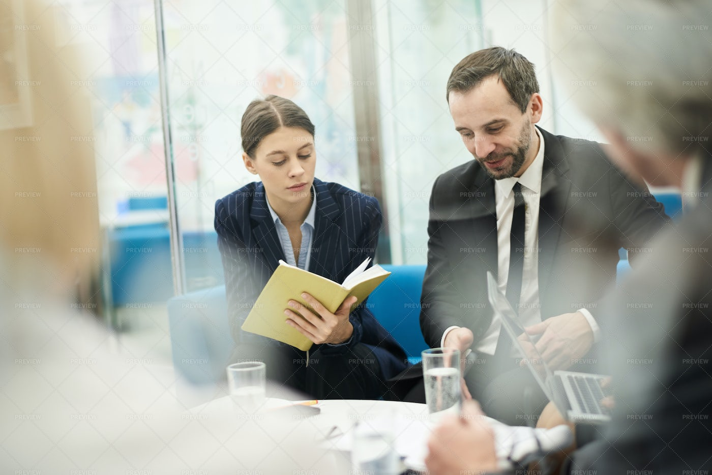 Business People In Work Meeting: Stock Photos