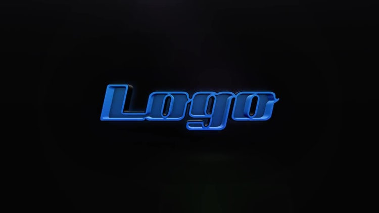 Jet Black Logo: After Effects Templates