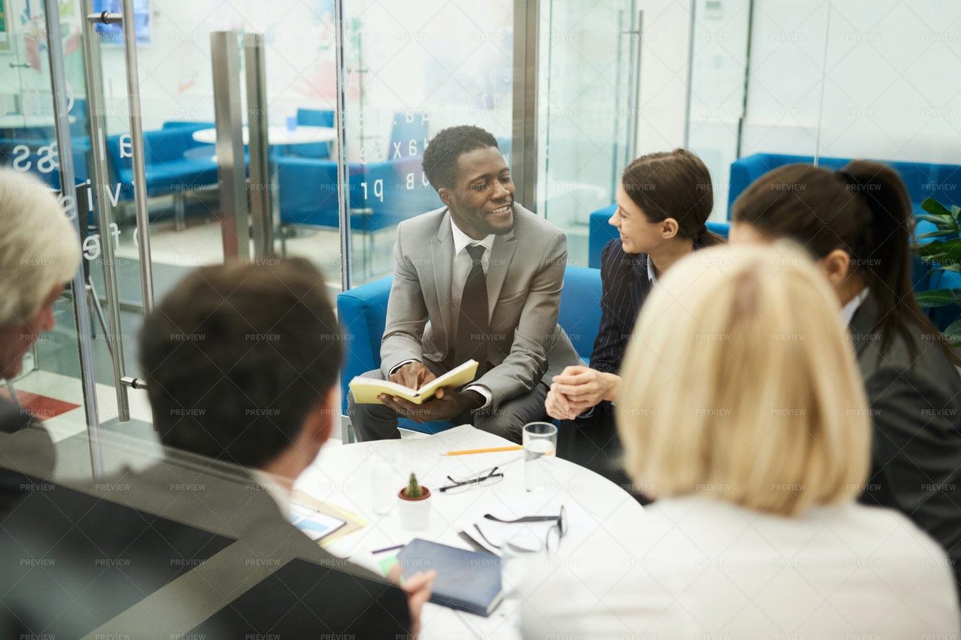 Multi-ethnic Business Meeting: Stock Photos