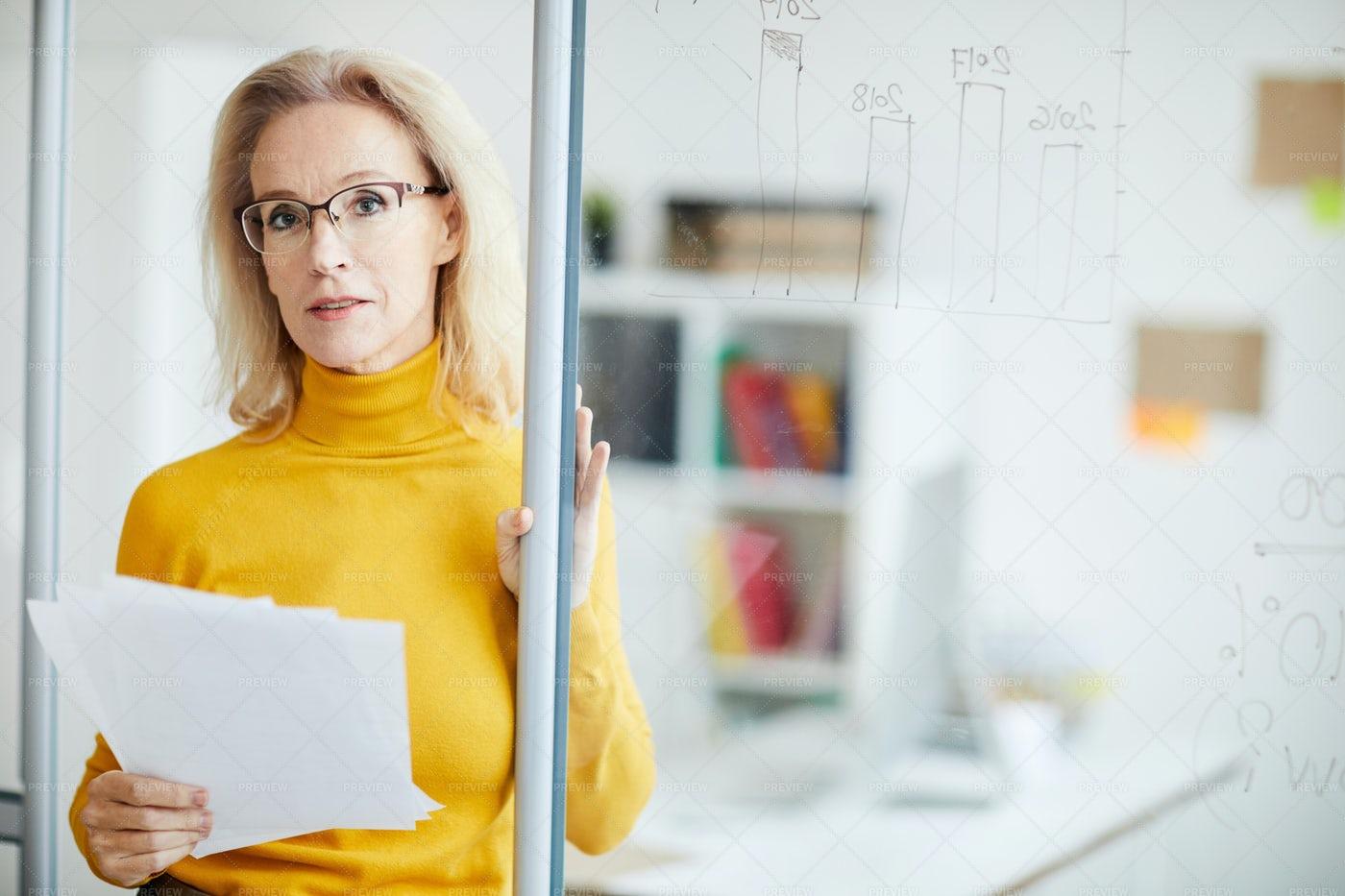 Mature Business Manager: Stock Photos
