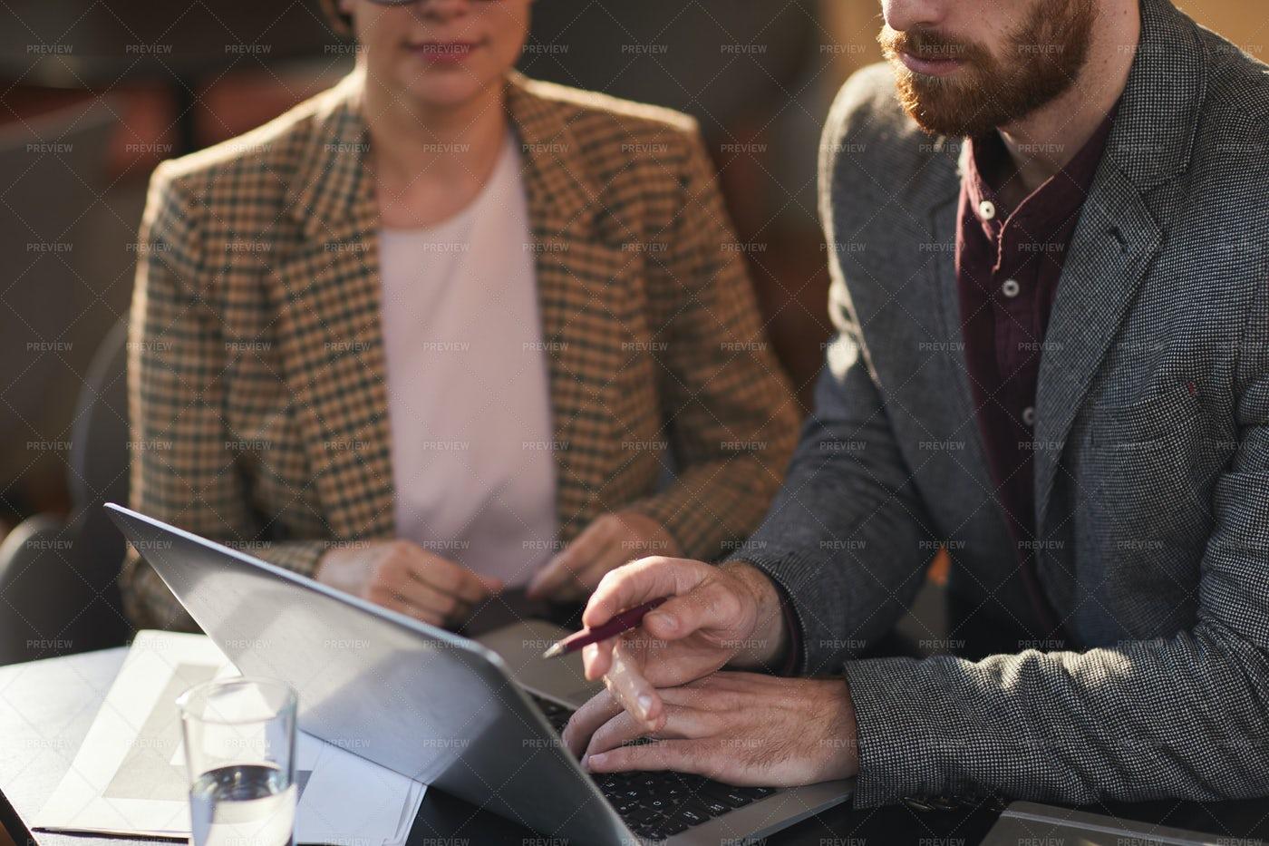 Business Meeting Crop: Stock Photos