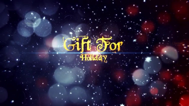 Christmas Greetings Slides: After Effects Templates