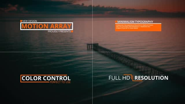 30 Stylish Titles: After Effects Templates