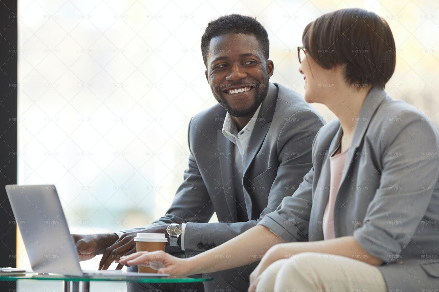 Positive Creative Business Team At...: Stock Photos