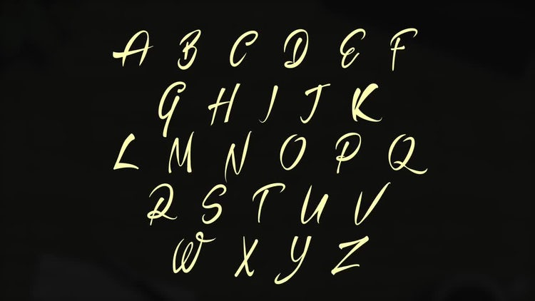 Animated Font: Motion Graphics