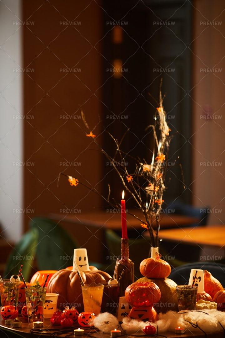 Halloween Party Decor: Stock Photos