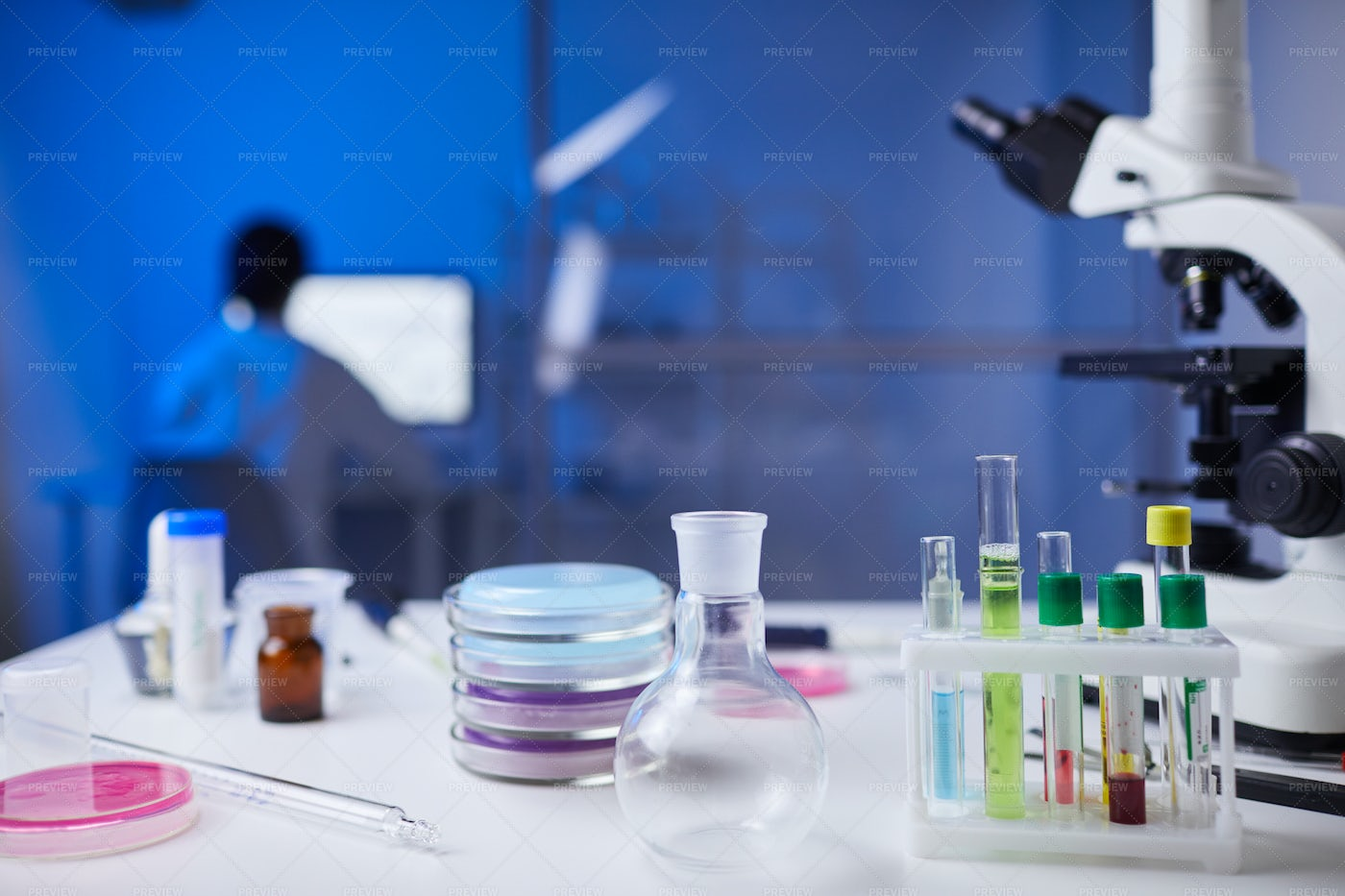 Scientific Research Background: Stock Photos