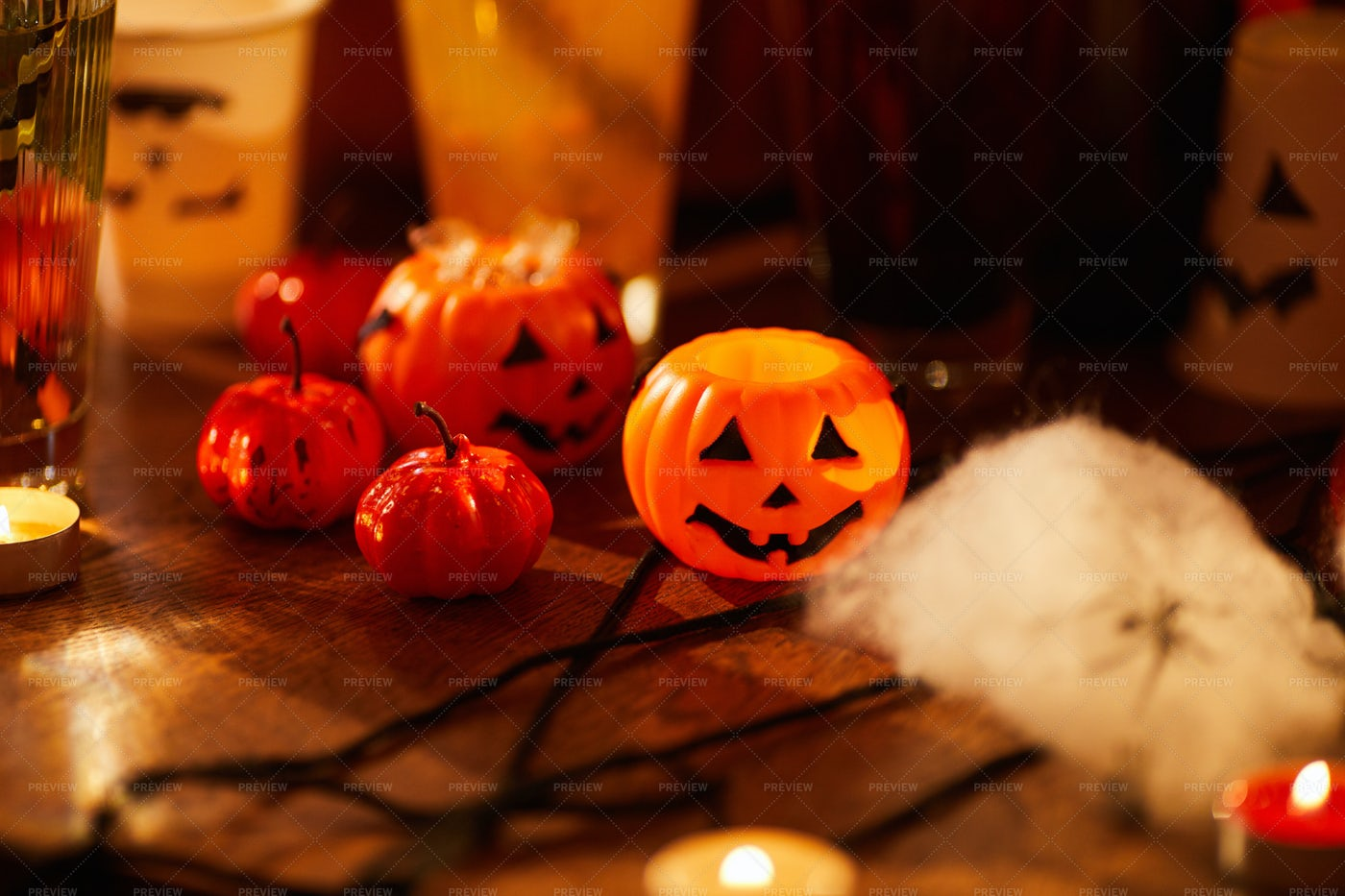 Decorations For Halloween: Stock Photos
