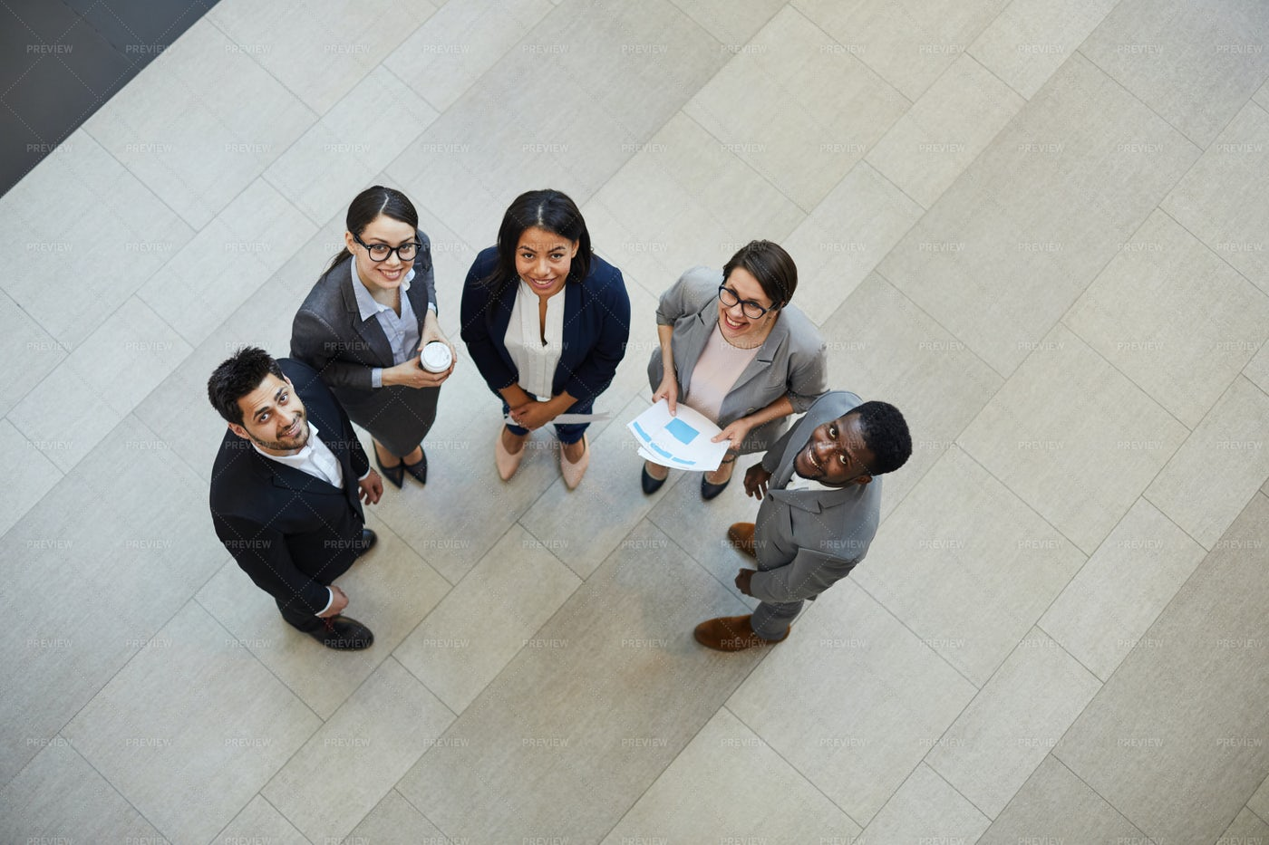 Happy Young Business Professionals: Stock Photos