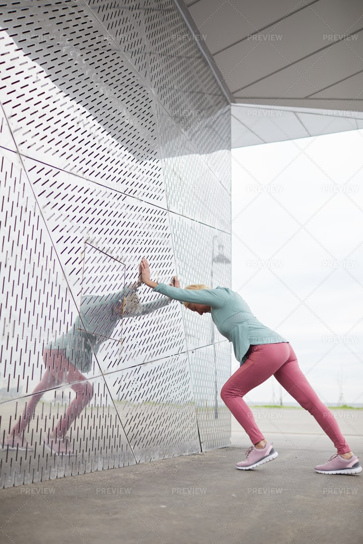 Outdoor Exercising: Stock Photos
