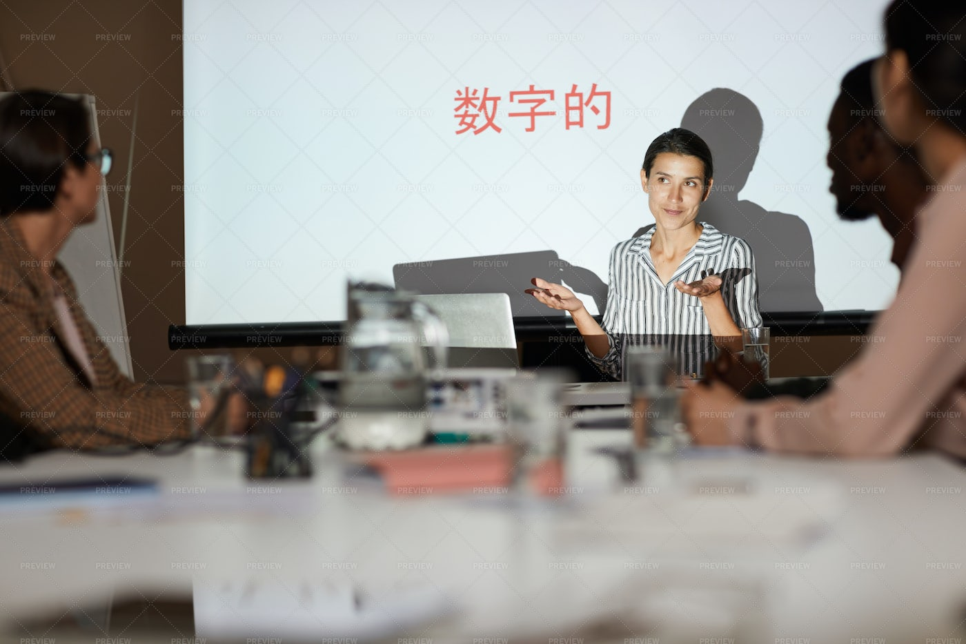 Training Class For Chinese Students: Stock Photos