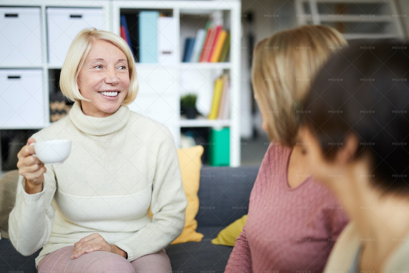 Group Of Women Chatting: Stock Photos