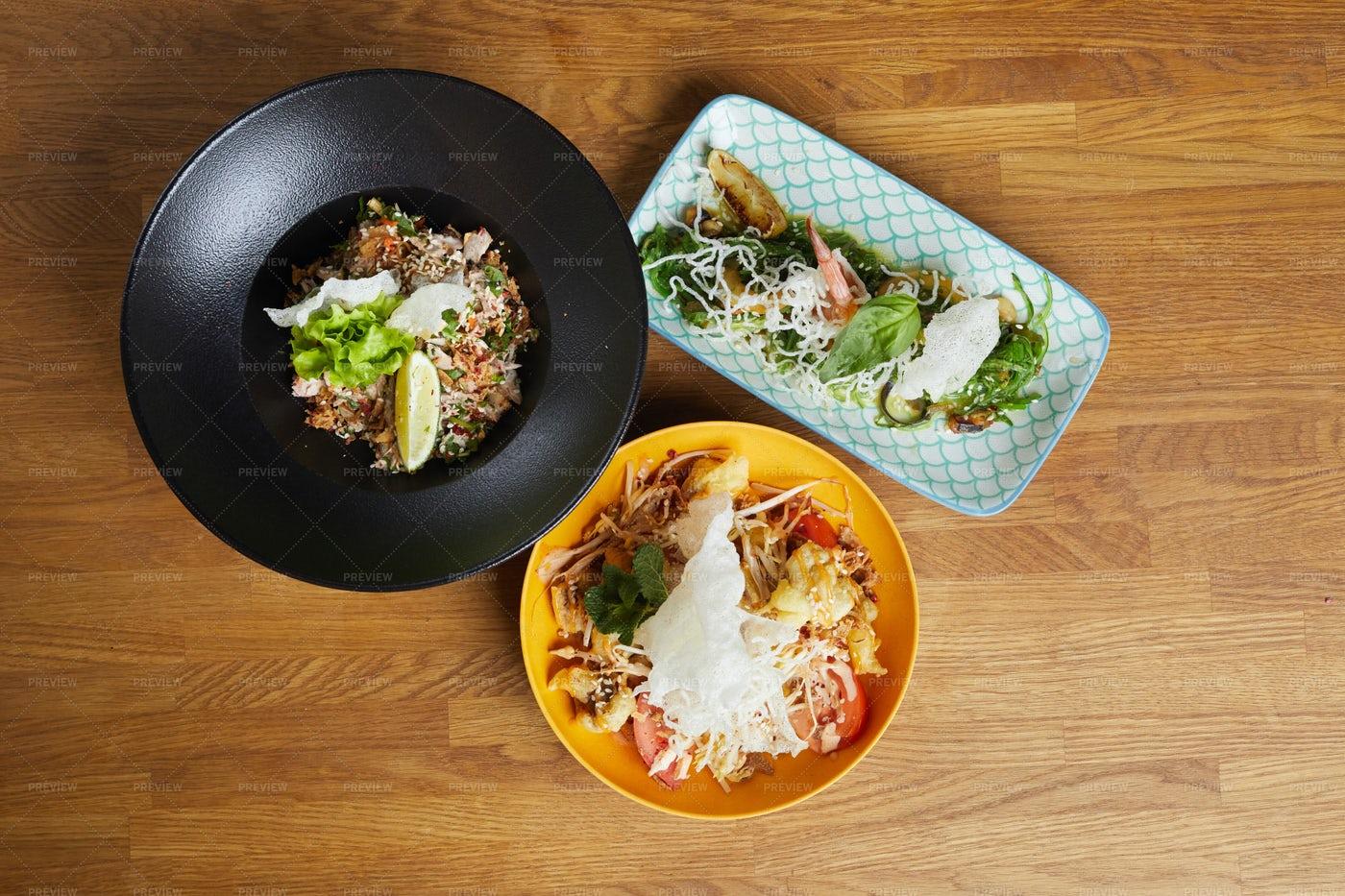 Asian Food Background: Stock Photos