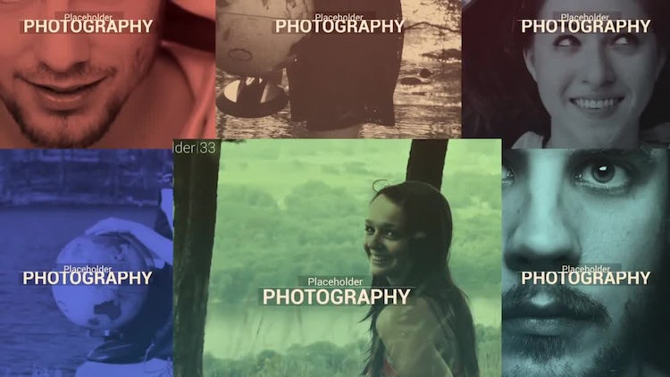 Photographer Slideshow - Responsive Slides: After Effects Templates