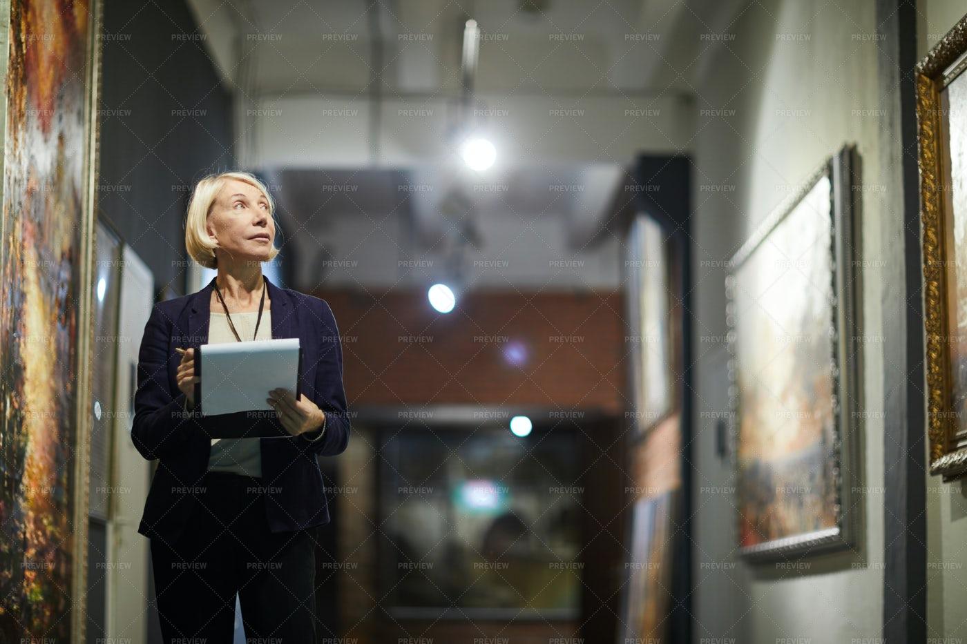 Museum Curator: Stock Photos