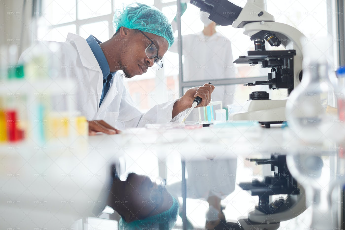 African Med School Student: Stock Photos