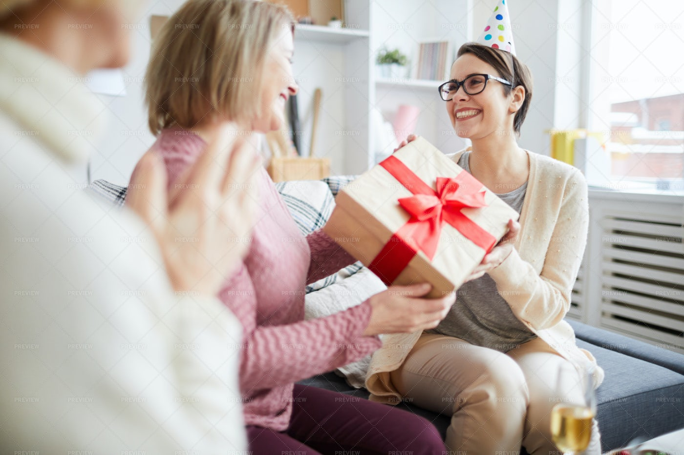 Celebrating Birthday: Stock Photos