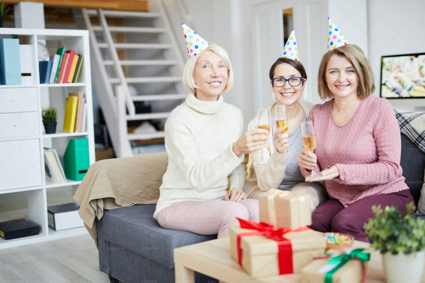 All Girls Party: Stock Photos