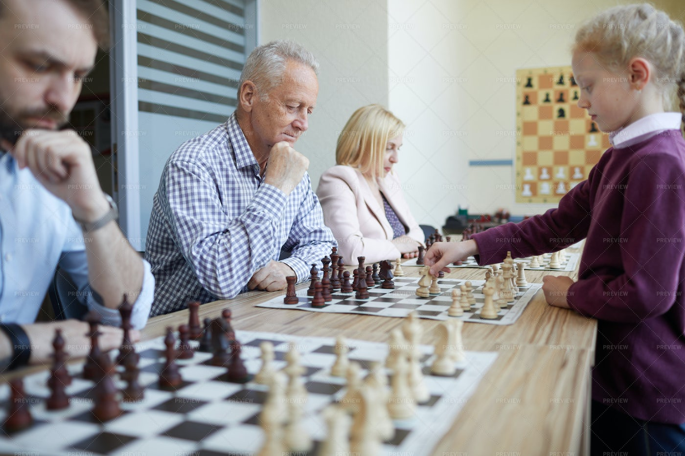 Chess Tournament: Stock Photos