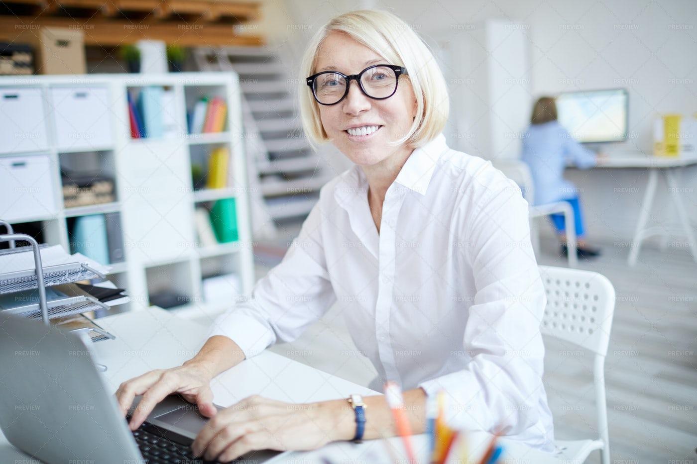 Successful Mature Woman: Stock Photos