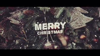 Christmas Slideshow: Premiere Pro Templates