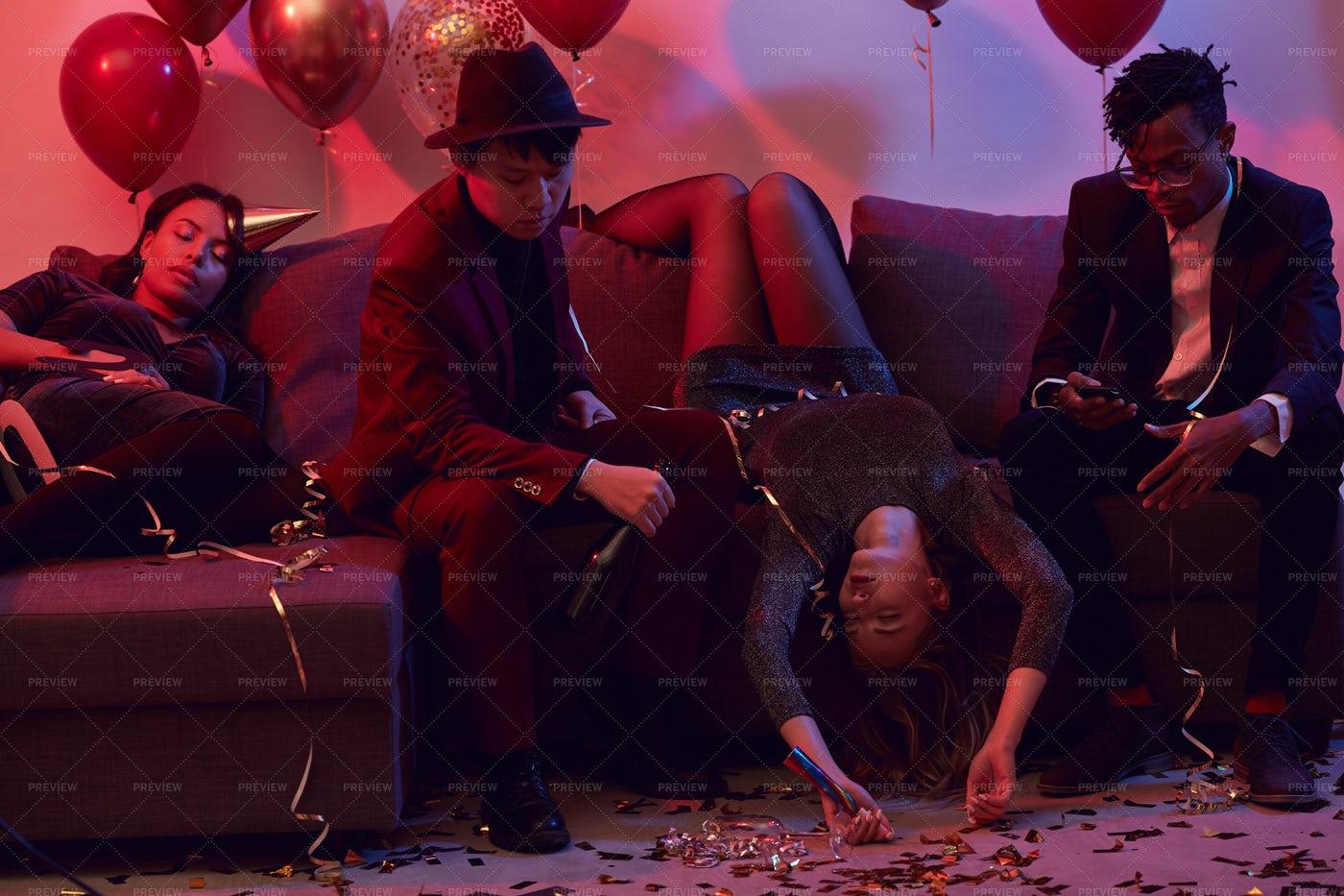 Drunk People In Nightclub: Stock Photos