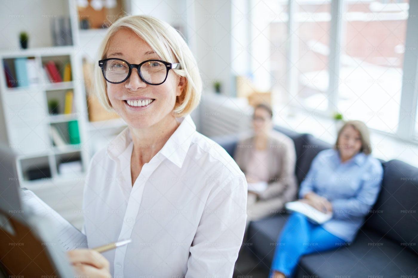 Mature Business Coach: Stock Photos