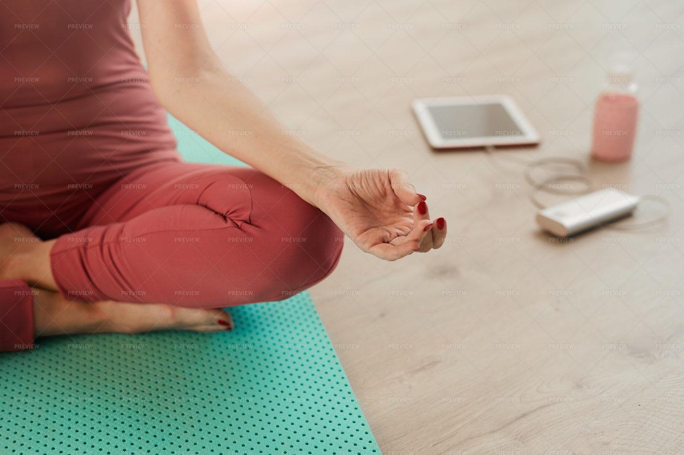 Yoga Background: Stock Photos
