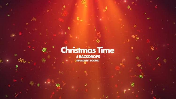 Christmas Time: Motion Graphics