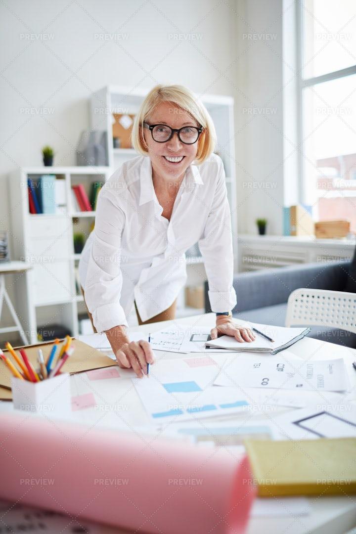 Mature Designer: Stock Photos
