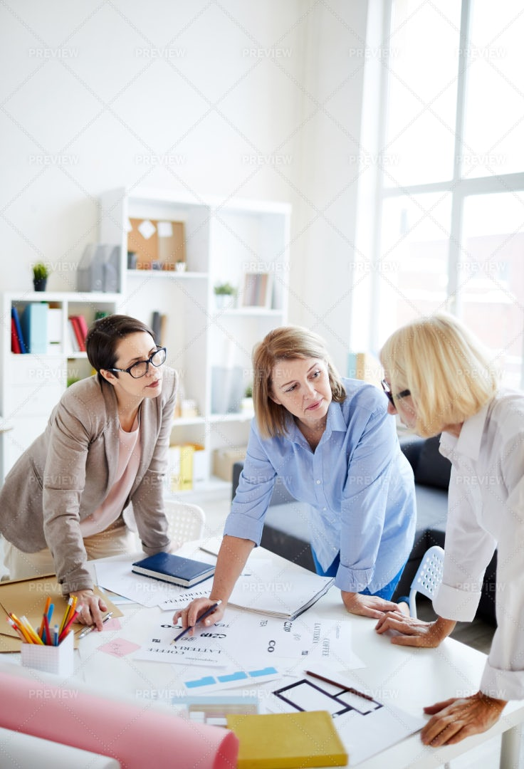 Group Of Designers Working: Stock Photos