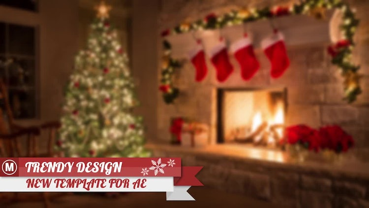 Christmas Lower Thirds: After Effects Templates
