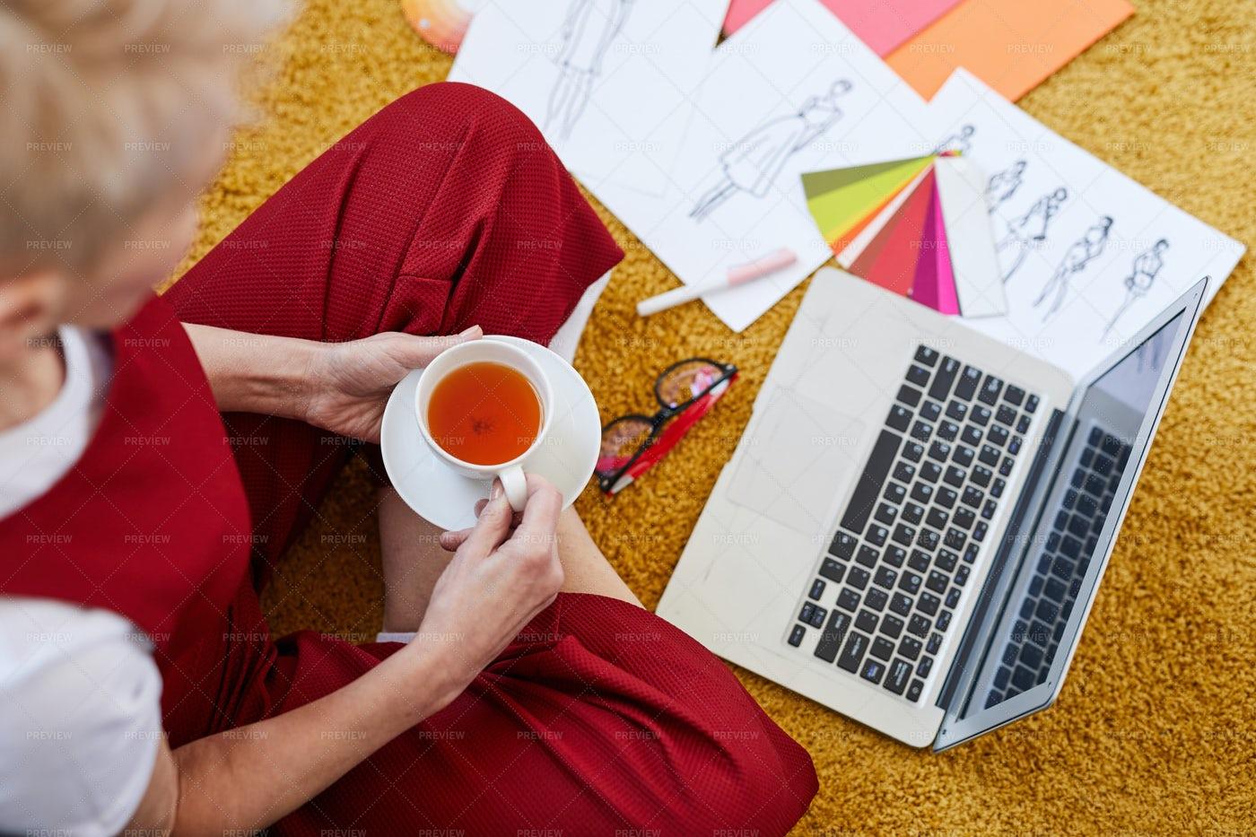 Tea Break: Stock Photos