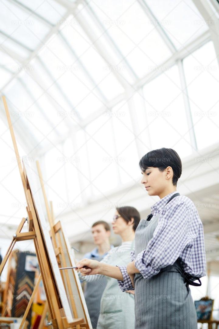 Contemporary Artist: Stock Photos