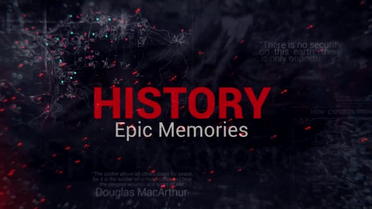Epic History Memories: After Effects Templates