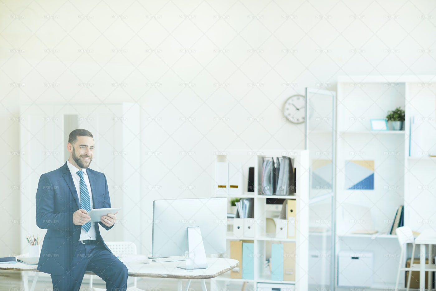 Ambitious Project Manager...: Stock Photos