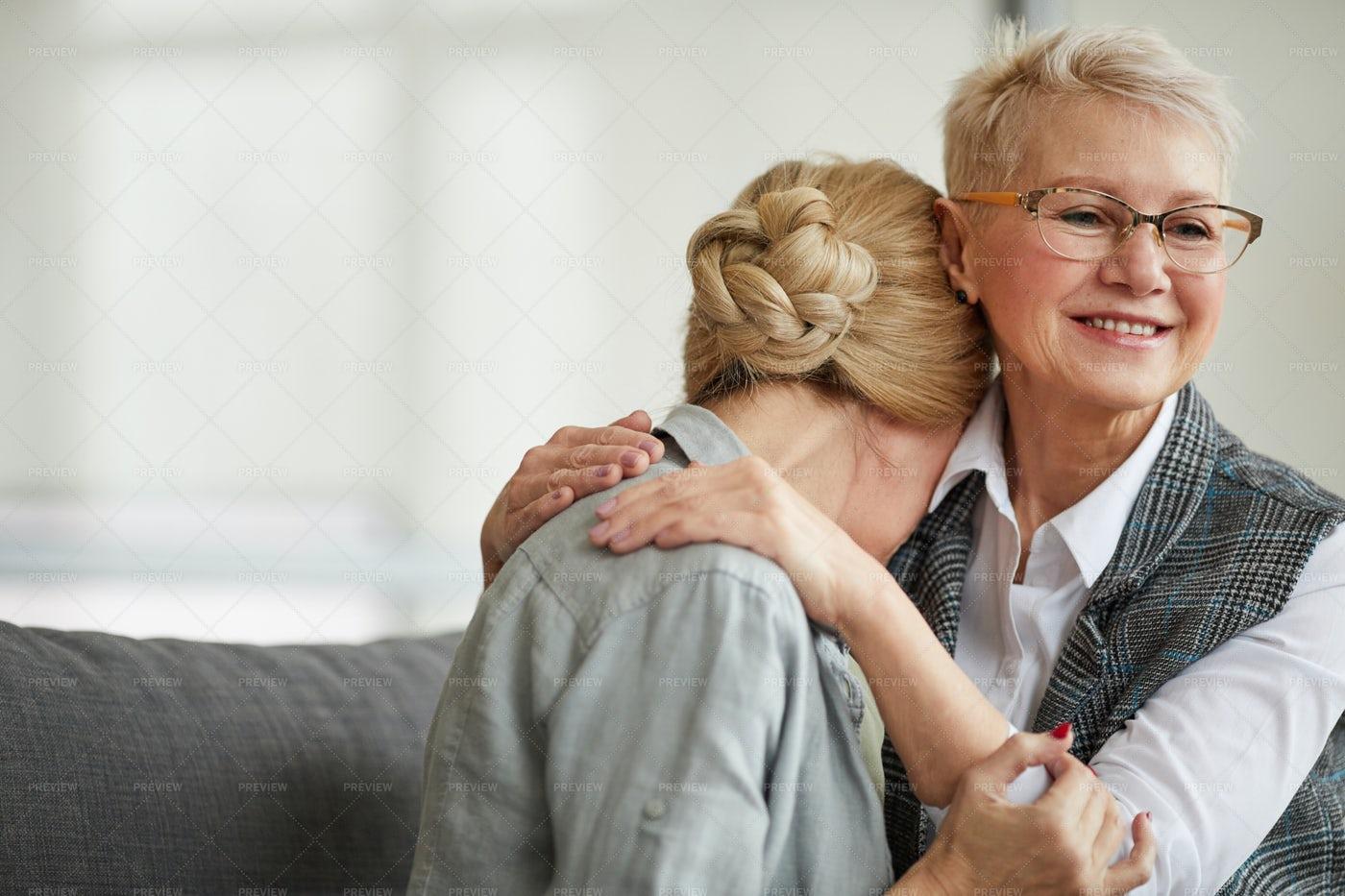 Smiling Female Psychologist...: Stock Photos