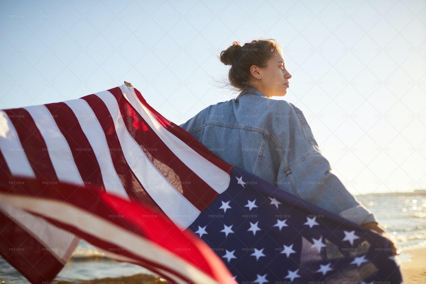Thinking Of America: Stock Photos