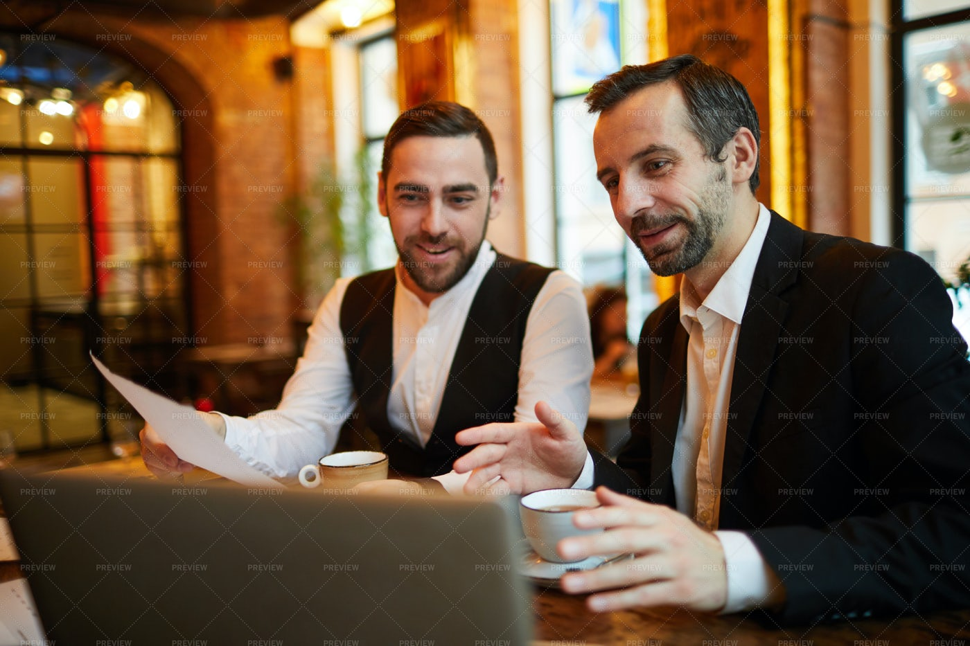Business People Working In...: Stock Photos