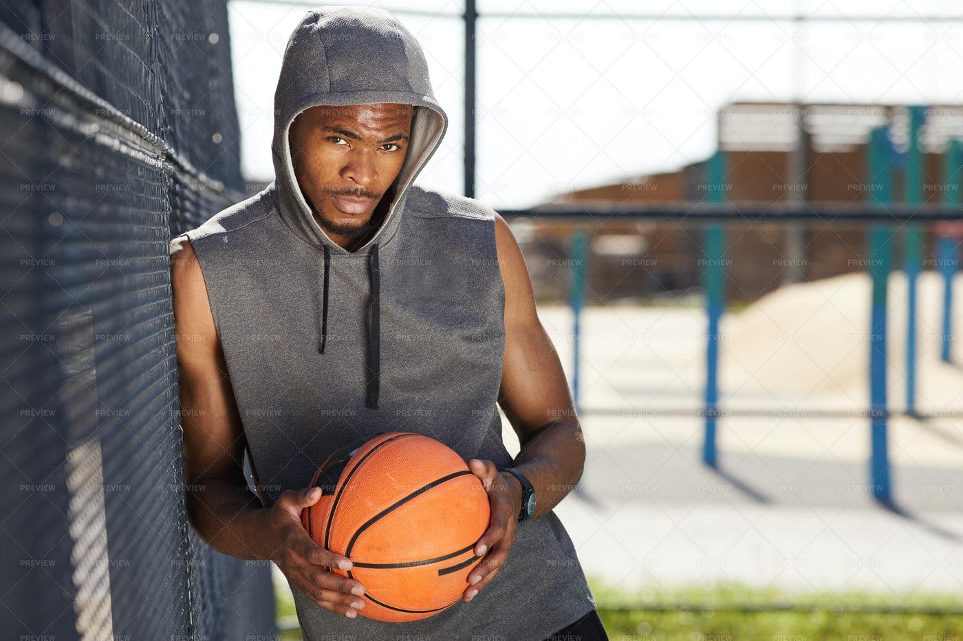 African Basketball Player: Stock Photos