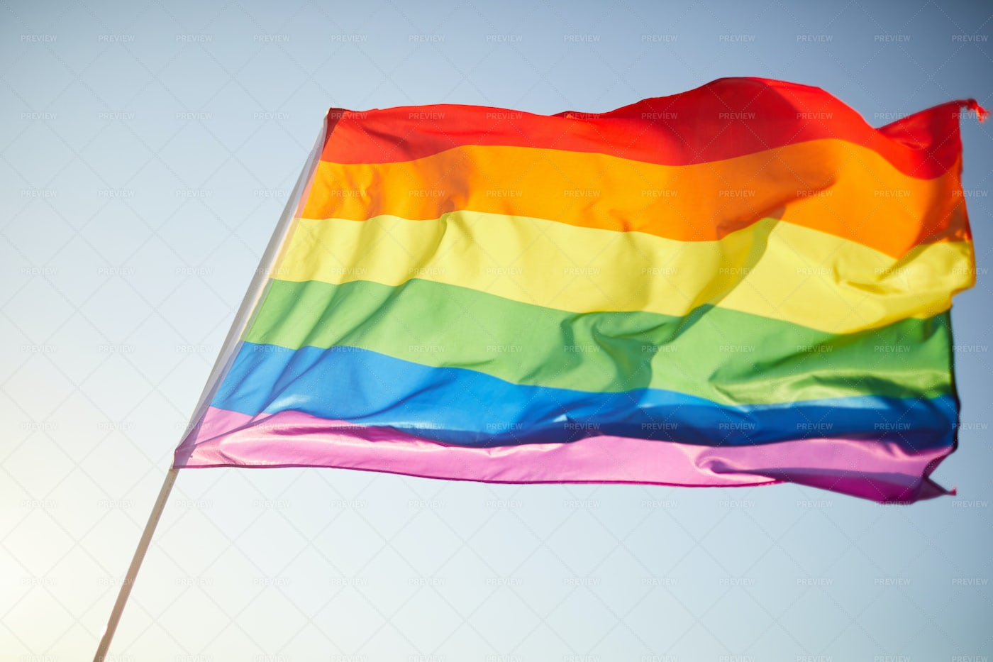 Rainbow Flag: Stock Photos