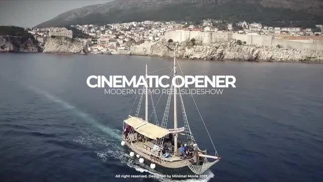 Cinematic Opener Premiere Pro Templates 55131
