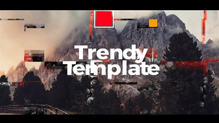 Dynamic Slide: After Effects Templates