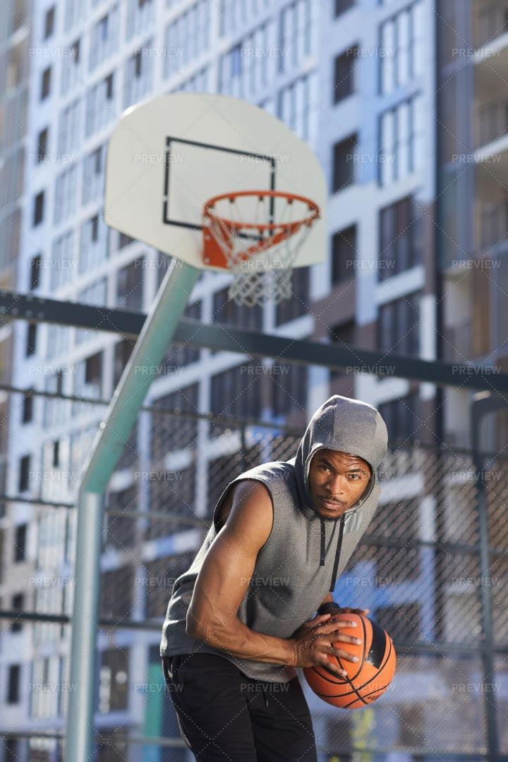 African-American Basketball Player: Stock Photos