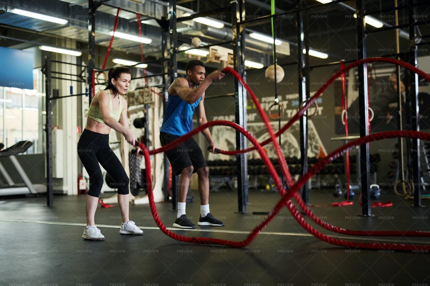 Strength Workout: Stock Photos